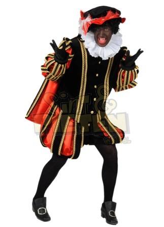 Piet De Luxe Madrid Zwart En Blauw Rood ★ Groot Aanbod Van