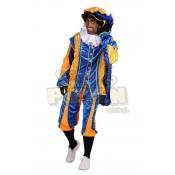 Pietenpak Cadiz met cape Oranje-Blauw