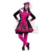 Dames Pietenpak Graciosa Roze-Zwart