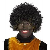 Zwarte Piet Pruik Modern