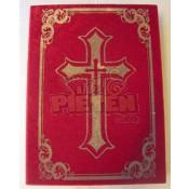 Boek van Sinterklaas met kruis