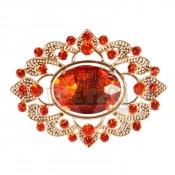 Baretspeld Luxe goud-rood 4,5 cm