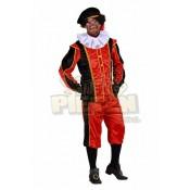 Zwarte Piet Pak Tormolinos Rood-Zwart