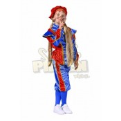 Pietenpak voor Kinderen Blauw-Rood
