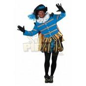 Pietenpak Albufeira Turquoise-Zwart