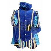 Pietenpak Malag met cape Blauw Turquoise