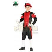 pietenpak voor kinderen rood zwart