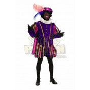 Bennie Stout kostuum paars roze