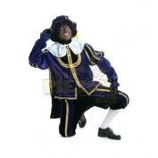 zwarte piet pak fluweel cape