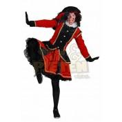 Zwarte Piete dame madrid rood zwart