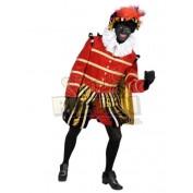Pietenpak Madrid Rood-Zwart-Goud